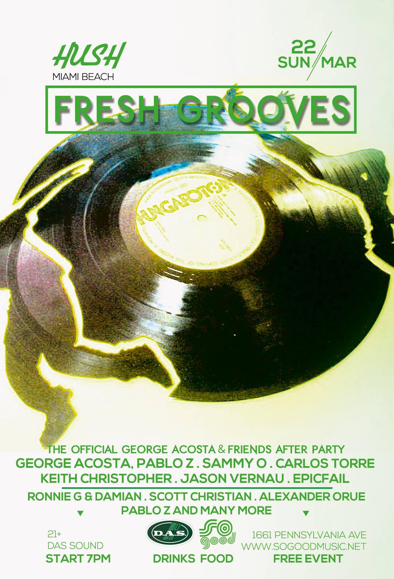 Hush Fresh Grooves WMC 2015