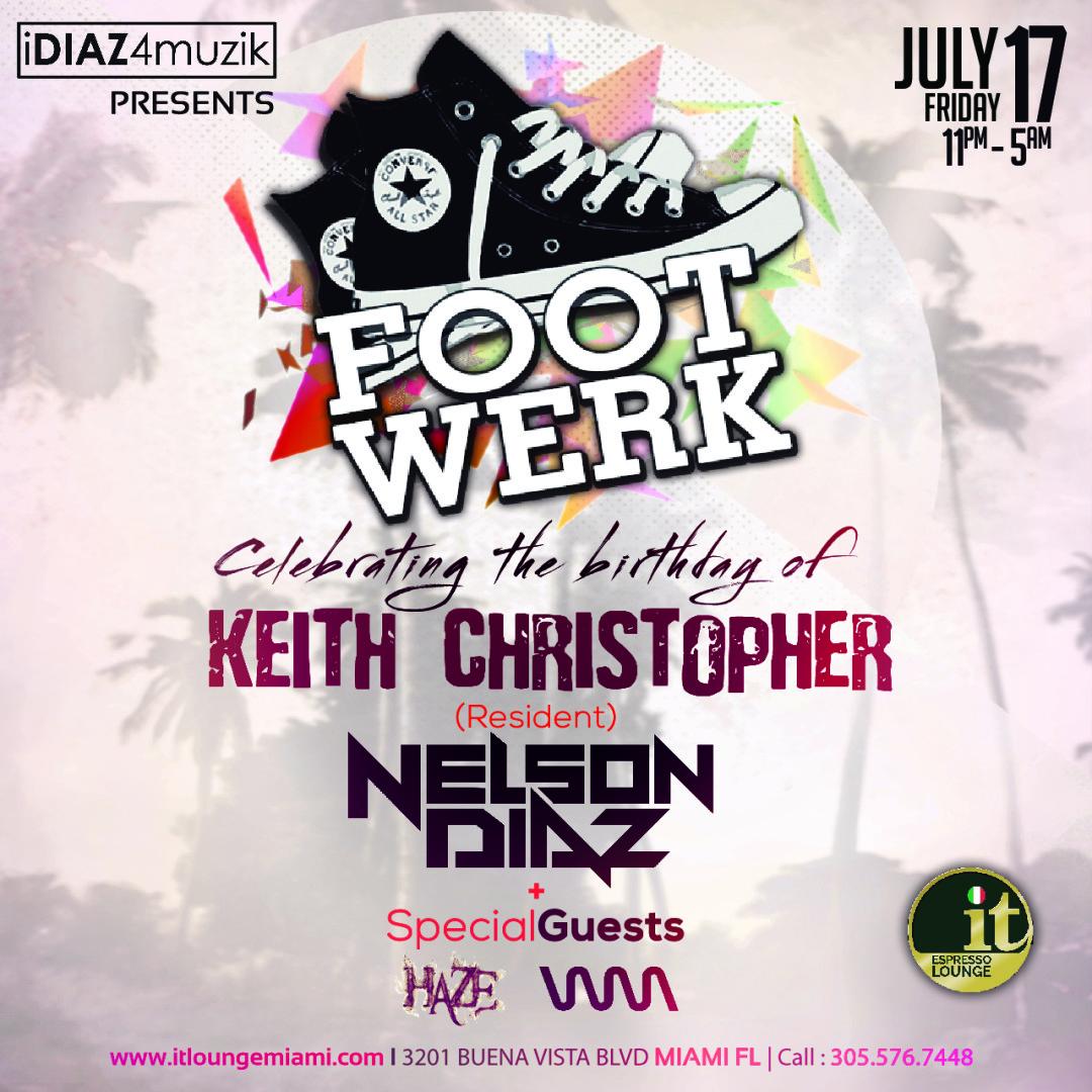 FootWerk Celebrates Keith Christopher's Birthday