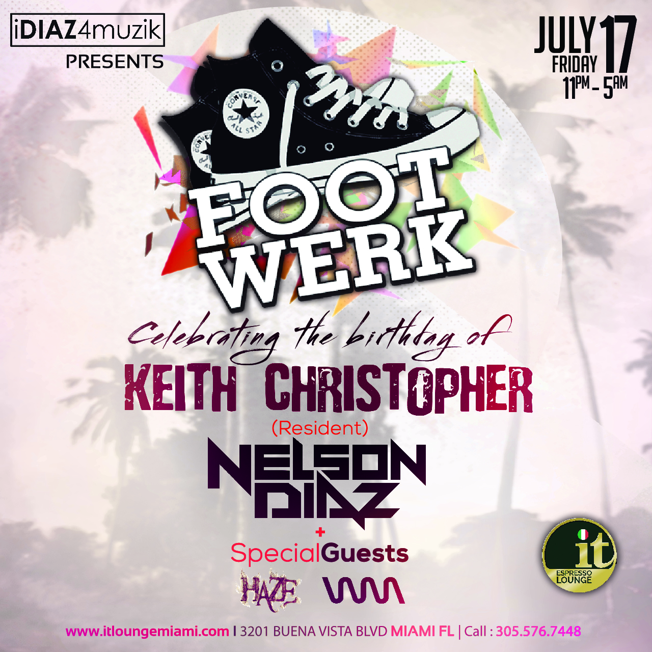 FootWerk Celebrates Keith Christopher's Birthday