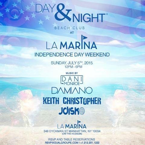 La Marina – New York City, NY – July 5th, 2015