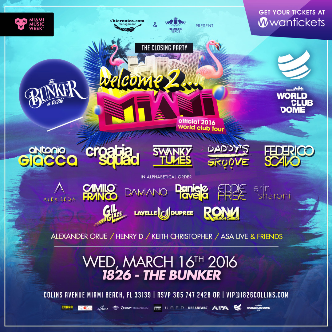 Welcome 2 Miami Tour Closing Party – Miami Beach, FL