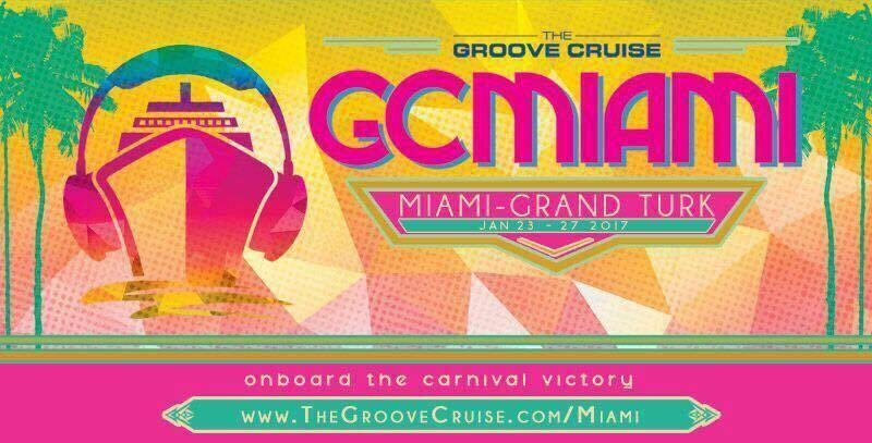 The Groove Cruise Miami sails to Grand Turk in 2017!!