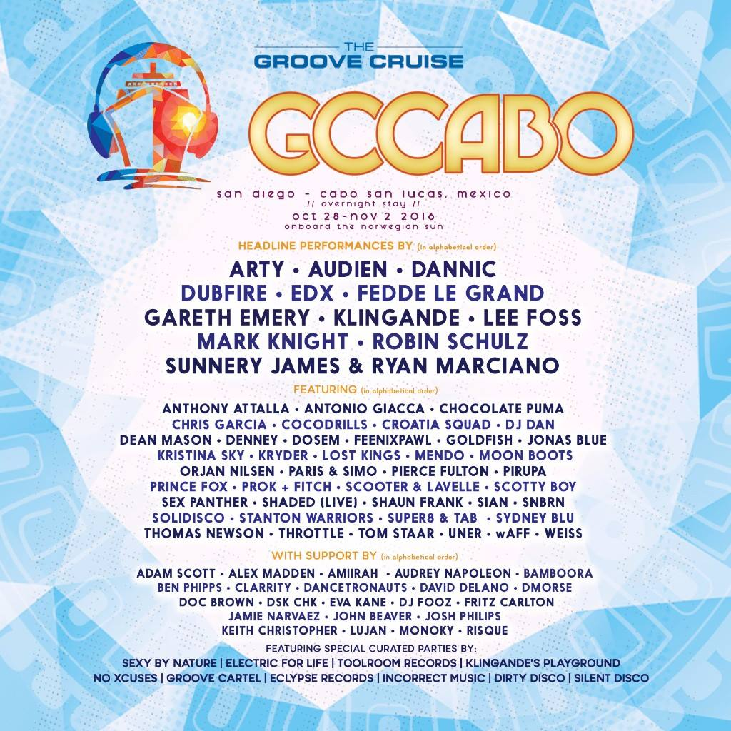 Groove Cruise Cabo – Cabo San Lucas, MX