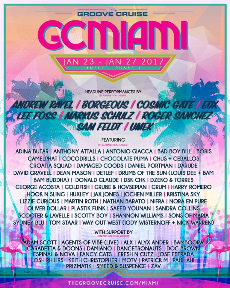The Groove Cruise #GCMIAMI