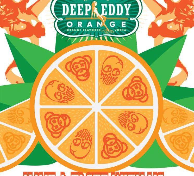 Deep Eddy Orange Vodka Launch Party with Cocodrills