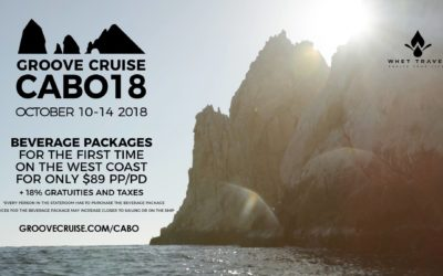 Groove Cruise returns to Cabo in 2018!!